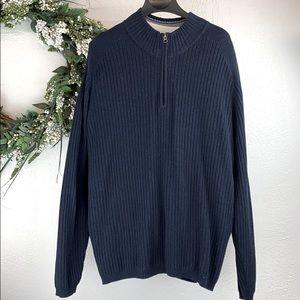 💐BOGO Tommy Bahama XXL 1/4 Zip Pullover Sweater